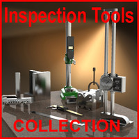 Inspection and Measuring Tools, Collection