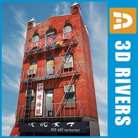 China town building by 3DRivers