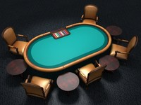 Pokertable with 2 different theme