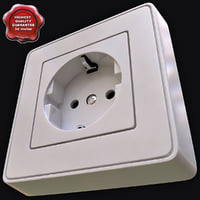 electrical outlet c4d