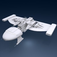 spacecraft space craft 3d model