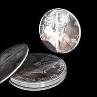 silver eagle 3d model