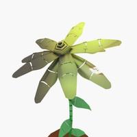 metal plant 3d model
