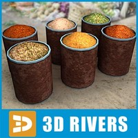 Large spice jars by 3DRivers