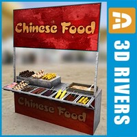 Chinese fast food buffet by 3DRivers