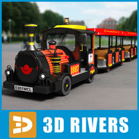 Kids train ride by 3DRivers