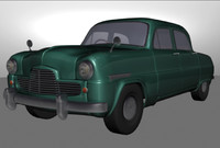 Vintage Car_Ford Zephyr inspired