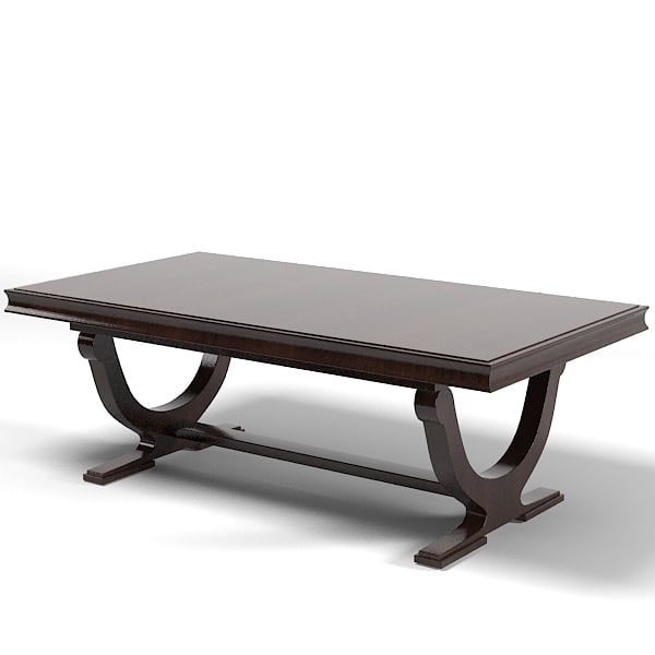 Barbara Barry Modern Contemporary Rectangular Dining Table