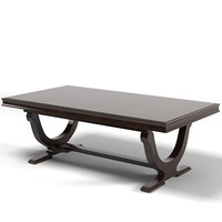 baker barbara barry modern contemporary rectangular dining table 3436