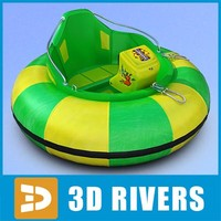 One-seat bumper boat by 3DRivers
