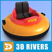 Two-seat bumper boat  by 3DRivers