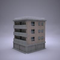 building details 3d model