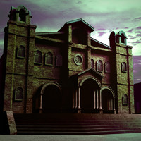 3dsmax cathedral