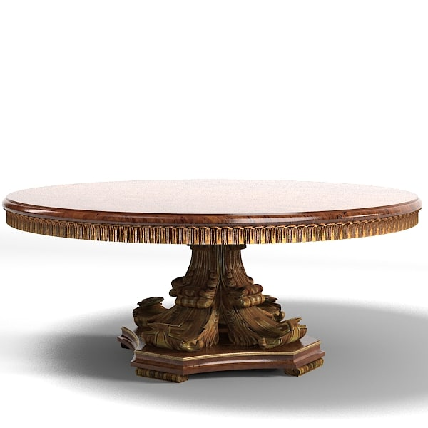 dining round table classic baroque ampir francesco molon provasi.jpg