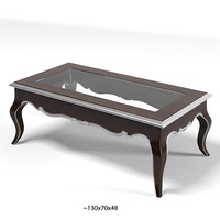 flai classic eclectic rectangular coffee cocktail table glass