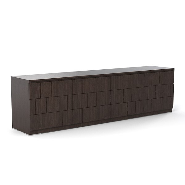 sellaro modern contemporary 3d model - Sellaro modern contemporary chest  of drawers... by shop3ds