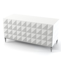 Tura modern contemporary chest of drawers commode art deco