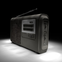 Highly Detailed Portable Radio