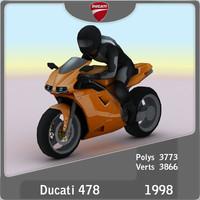 1998 Ducati 478