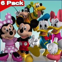 3d 6 mickey friends