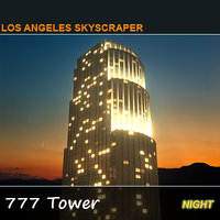maya night 777 tower skyscraper