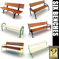 6 Benches