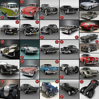 Retro Cars Collection V11