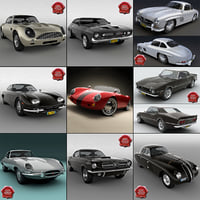 Retro Cars Collection V6