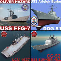 US Navy Ships Collection