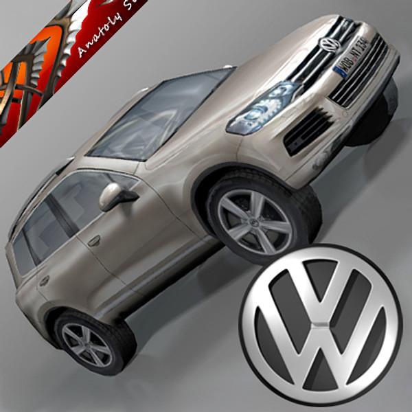 VolksWagen Car Touareg