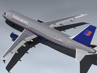 Airbus A320-232 (UA)