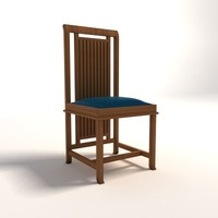 Frank Lloyd Wright Coonley Large Chair