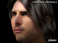 tom cruise head 3d model