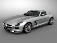 Mercedes SLS AMG - Textured