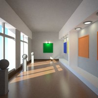 maya gallery interior