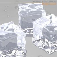 ice cubes obj