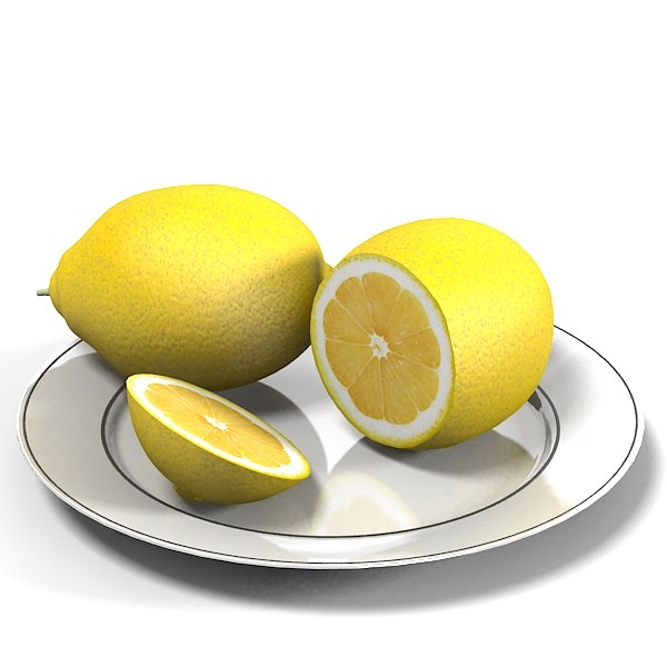 lemon fruit on plate .jpg