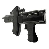 Futuristic gaming pistol