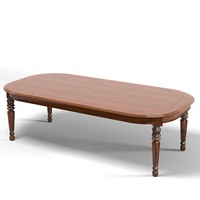 provasi classic dining table rectangular