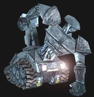 3d model tank robot