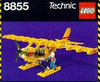 3d model lego technic plane