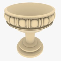3d model historic bowl