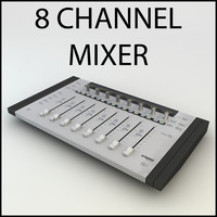 Euphonix MC Mix Mixer DJ Low Poly