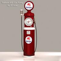 Tokheim-850 Mobilgas Gas Pump