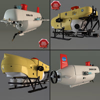 research submersibles 3d model