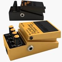3dsmax boss guitar pedal