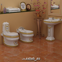 Stylish Toilet Set