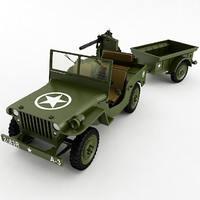 willys jeep 3d 3ds