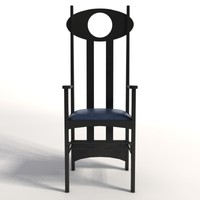 Charles Rennie Mackintosh Argyle Armchair