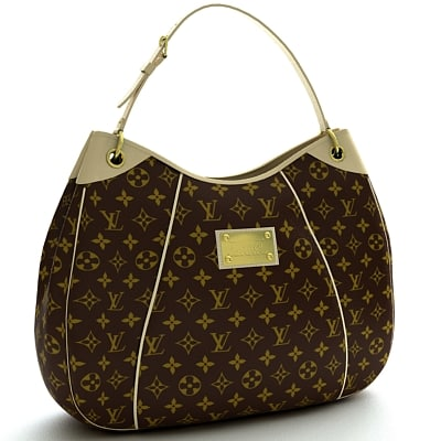 louis vuitton bag 3d model - Bag 04... by coboide